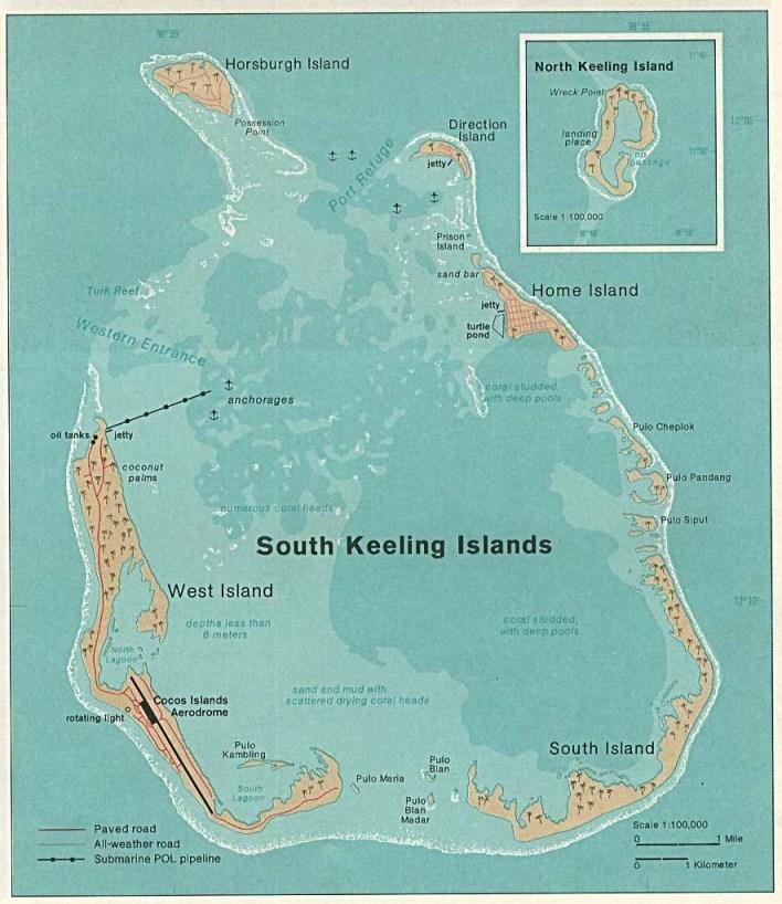 Cocos Island: Cocos (Keeling) Islands Coins With Brief History
