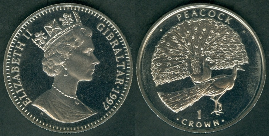 Gibraltar Coins and Rulers with brief history