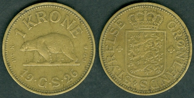 Greenland Coins With Rulers