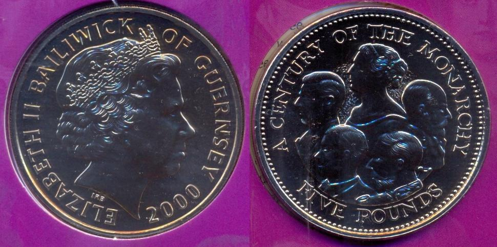 UK GREAT BRITAIN 5 POUNDS 90 ANNIVERSARY QUEEN MOTHER 1990 6RW 22OCT