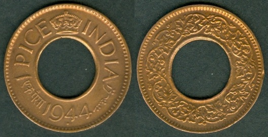 British India Coinage Under George Vi 1938 1947