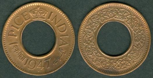 British India Coinage Under George Vi 1938 1947