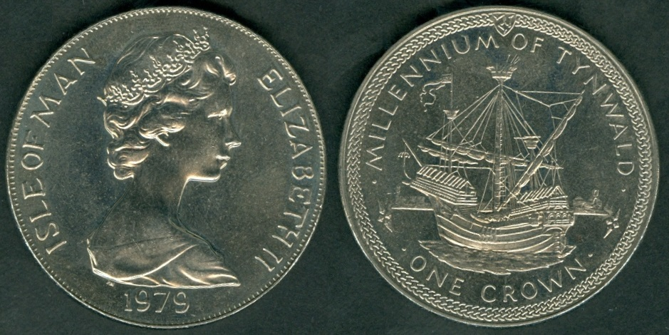 Isle of Man Coins and Rulers with brief history