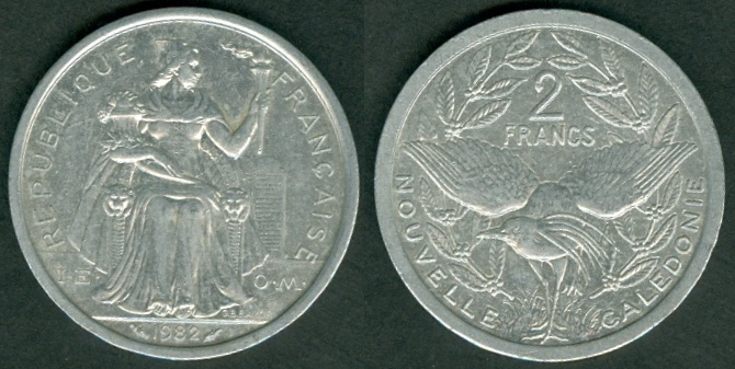 new caledonia coins with brief history and rulers. Black Bedroom Furniture Sets. Home Design Ideas
