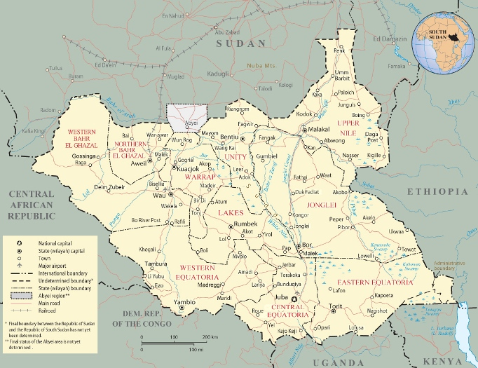 South Sudan Rulers And Coins - Republic of the sudan map