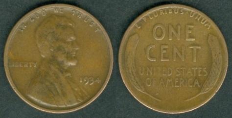 USA Coins 1934 - 1945 under President: Franklin Delano Roosevelt