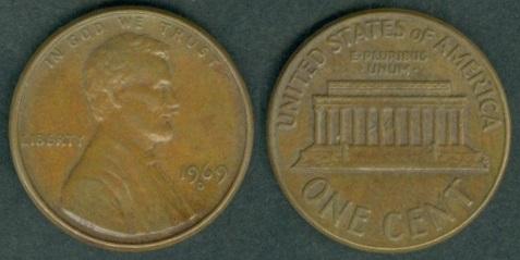 USA Coins 1969 - 1974 under President: Richard Milhouse Nixon