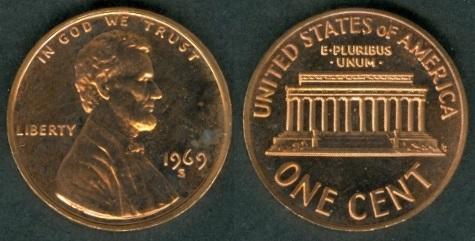 1969 dime value