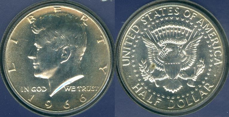 USA Coins 1964 - 1968 under President: Lyndon Baines Johnson